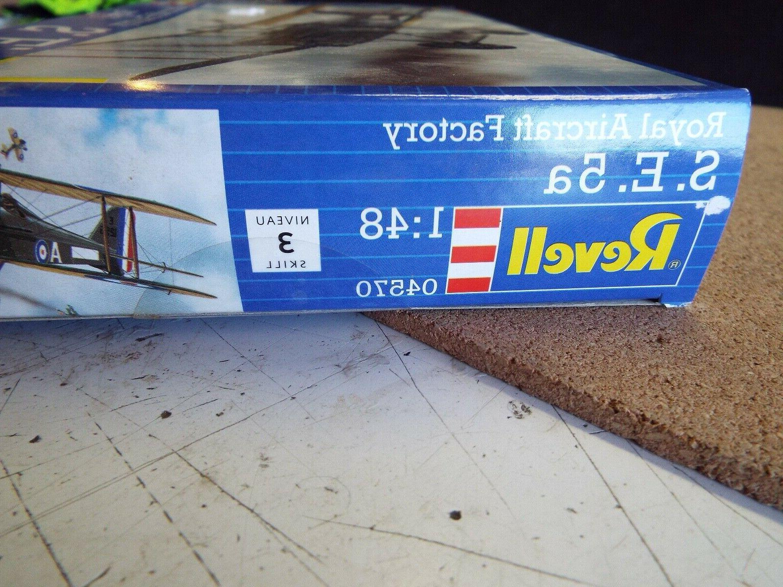 Revell 1:48 S.E. 5a Royal Aircraft Kit #04570