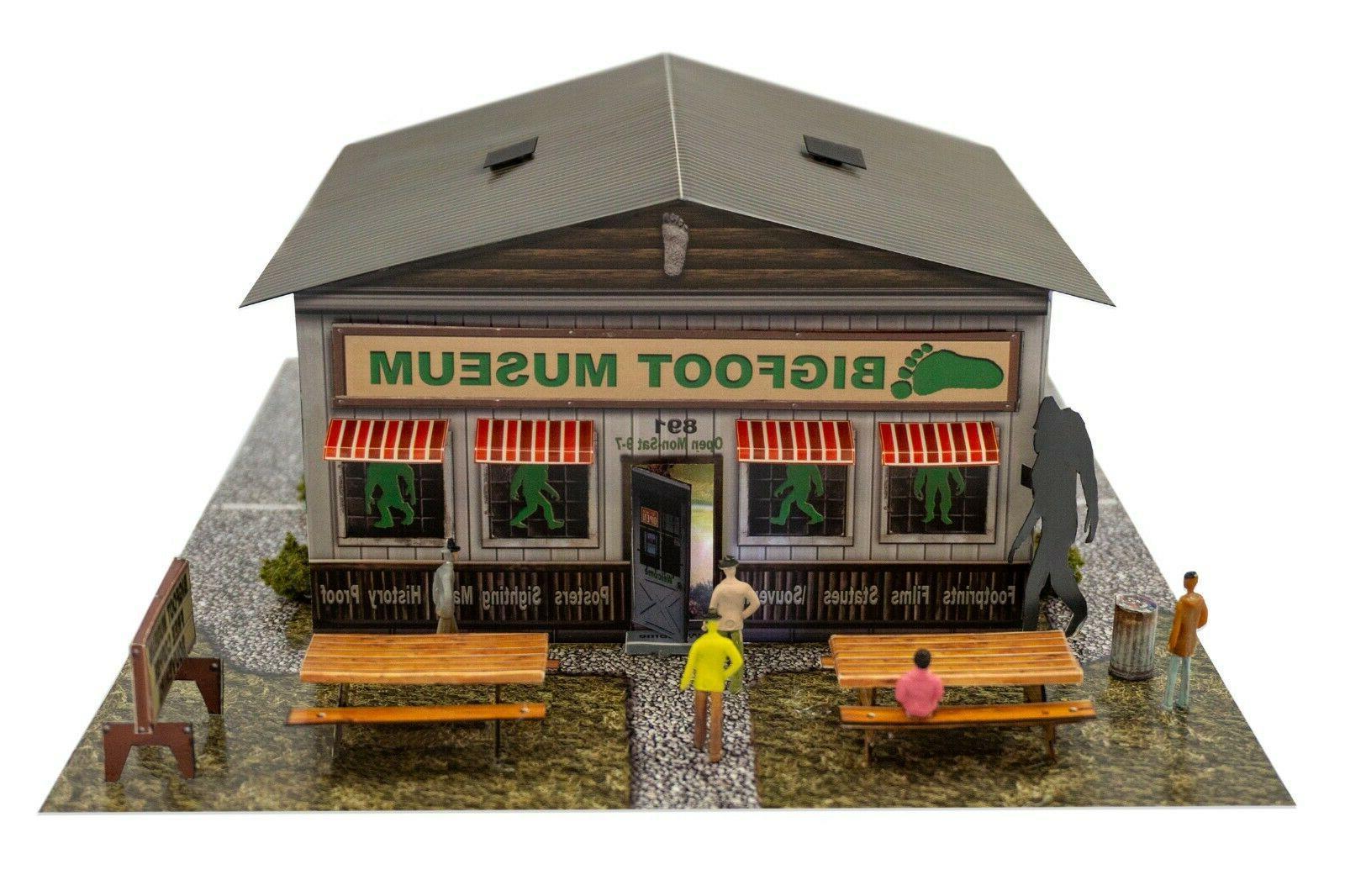 1 48 bigfoot museum model build kit