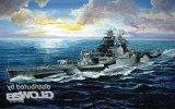 Trumpeter 1/700 French Navy Richelieu Battleship 1943 Model