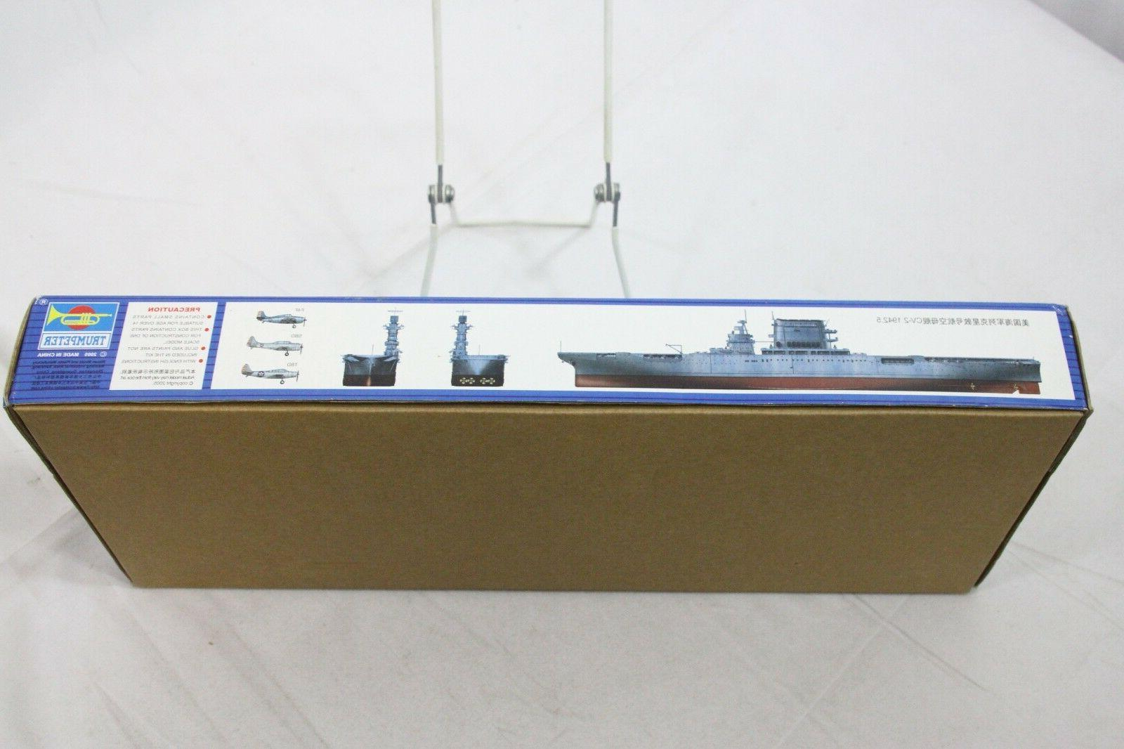 Trumpeter 1/700 USS Lexington 1942
