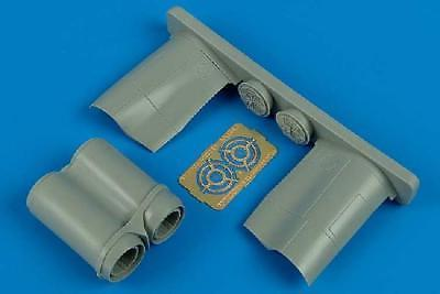 Aires 1:72 BAE Lightning F.6/F.2A Exhaust Nozzles for Trumpe
