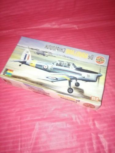 Airfix 1:72 Havilland DHC-1 Chipmunk trainer Model