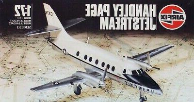 1 72 handley page jetstream plastic model