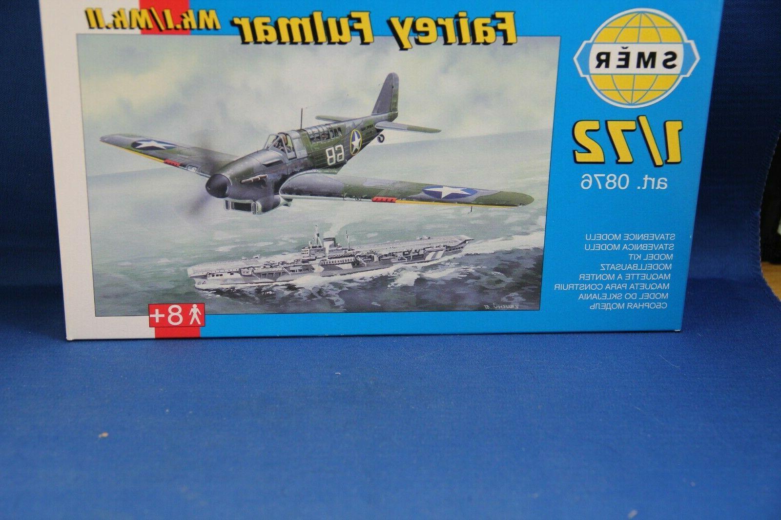 1 72 model plane kit nib fairey