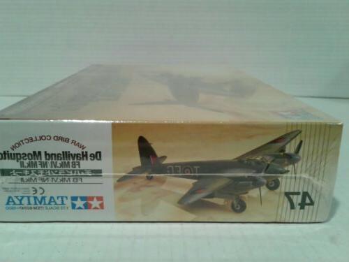 1/72 Scale Mosquito Mk. IV Sealed Model Plane Kit