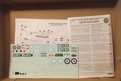 AirFix Scale Vickers Valiant Sealed Kit
