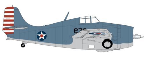 Airfix 1:72nd Grumman F4F-4 Model