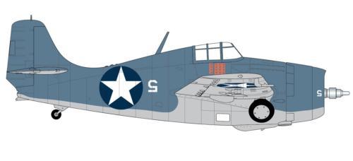 Airfix Grumman Wildcat Model Kit