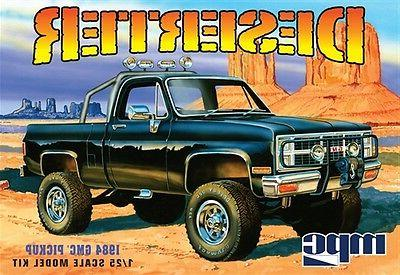 MPC 1:25 1984 GMC Pickup Black Plastic Model Kit MPC848