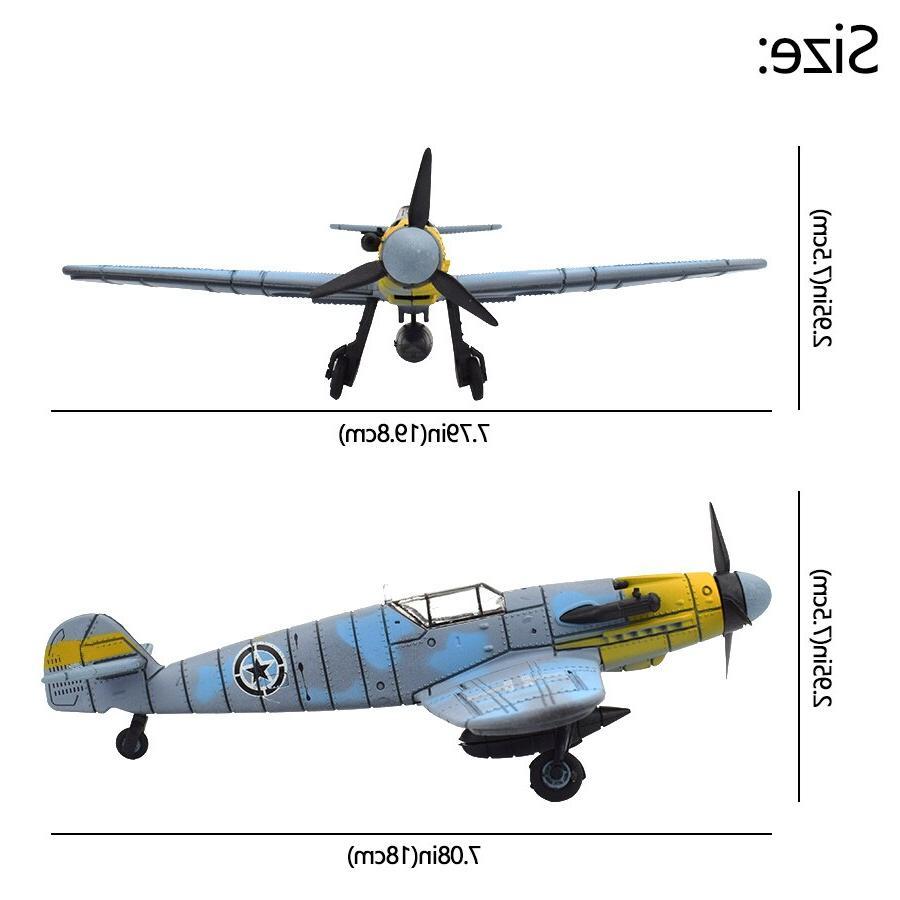 1 Assembly <font><b>Model</b></font> <font><b>Kit</b></font> Boys Aircraft Plastic Military Decoration Gifts