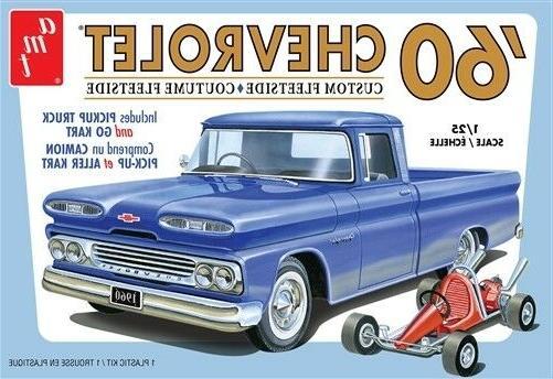 1063 unbuilt 1960 chevrolet chevy fleetside pickup