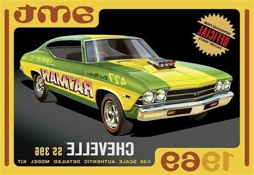 1969 chevy chevelle hardtop 1 25 model