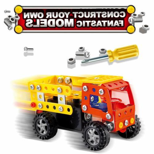 121 Truck STEM Kit 5+ Years Old