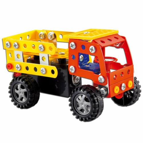 121 Pieces Truck Model STEM Toys Building Kit For 5+ Old Boys