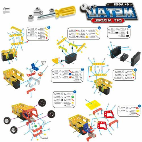 121 Truck STEM Building Kit Years Old