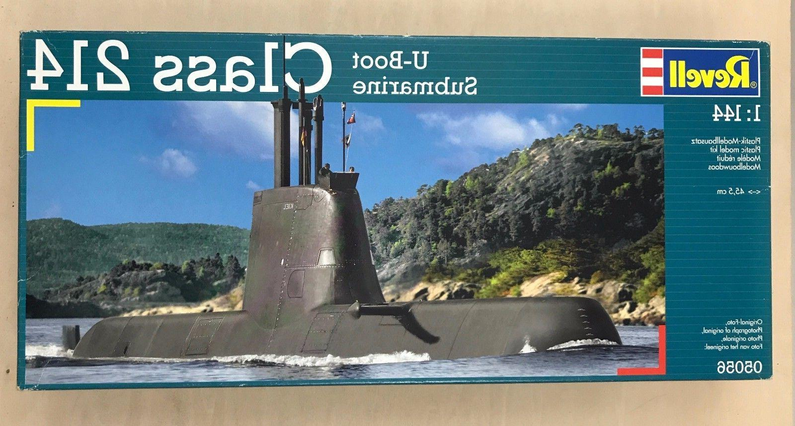 05056 1/144 German Submarine U-Boot Class U214 RVLS5056 REVE