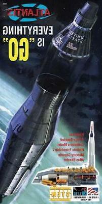 Atlantis 1833  Atlas Rocket With Mercury Capsule + Launch To