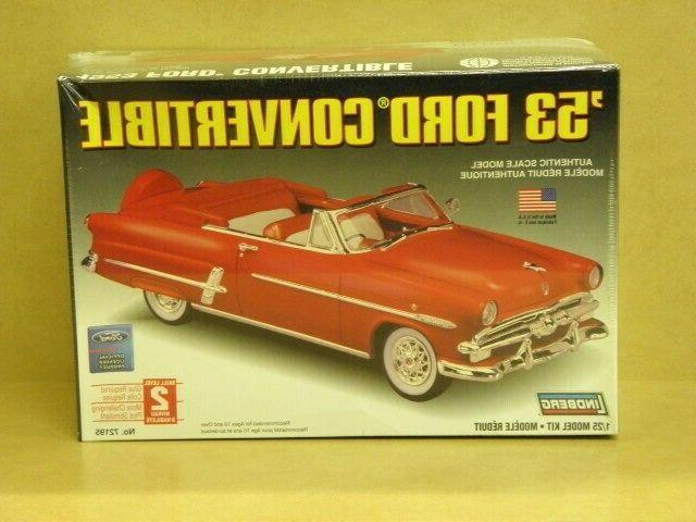 1953 ford convertible model kit 1 25