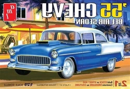 AMT 1955 Chevy Bel Air Sedan 1/25 Model Kit AMT1119-NEW