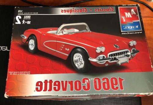 Amt 1960 Corvette Model Kit. New In Opened Box