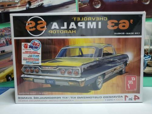 1963 chevy impala ss 1 25 scale