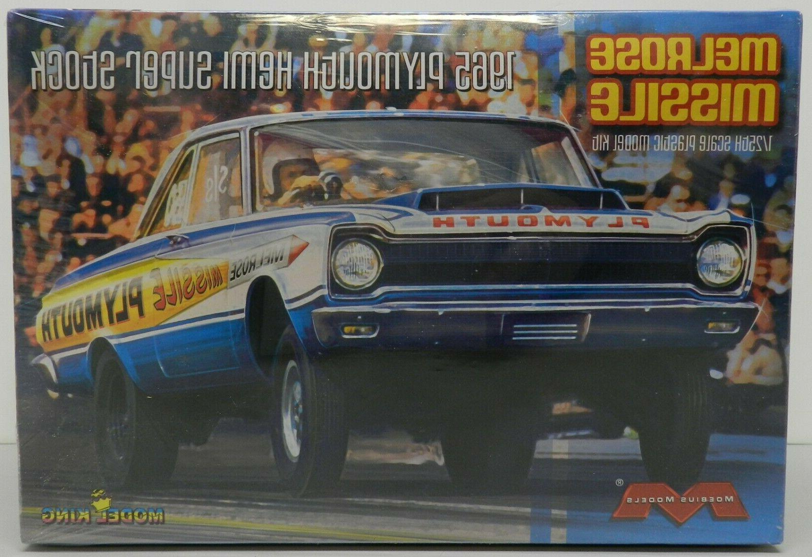 1965 plymouth belvedere melrose missile super stock
