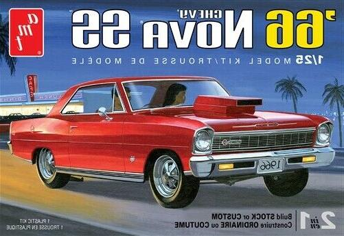 1966 chevy nova ss 1 25 model