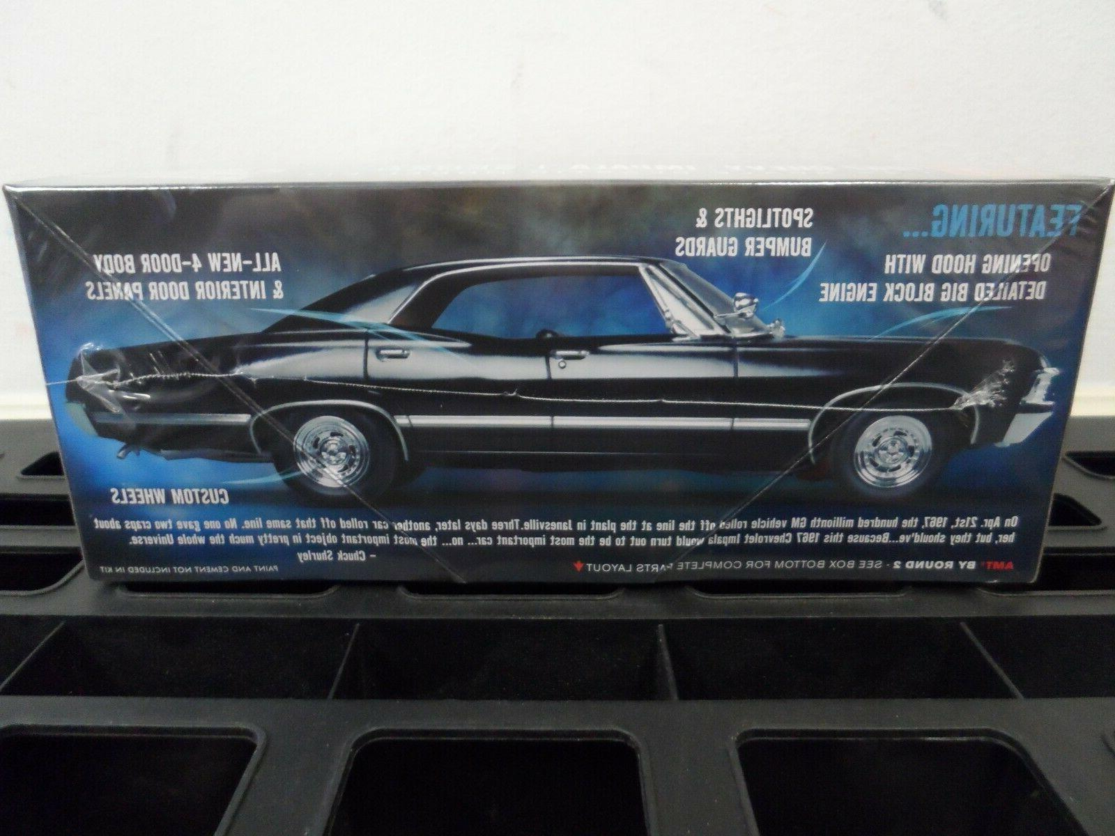 AMT 1967 Impala 4-Door Supernatural Kit