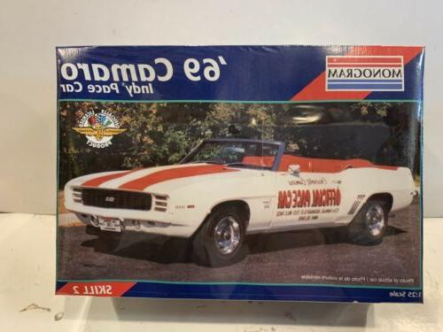 1969 camaro indy pace car model kit