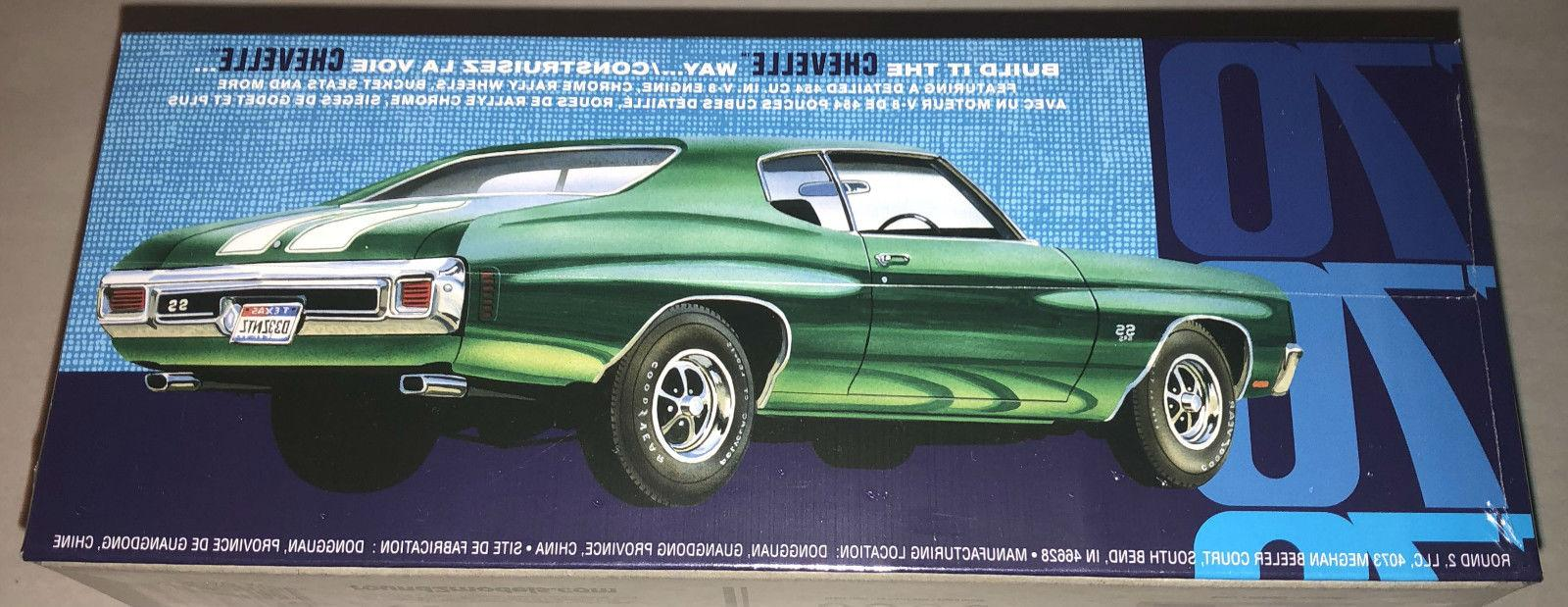 AMT 1970 Chevy SS 1:25 car