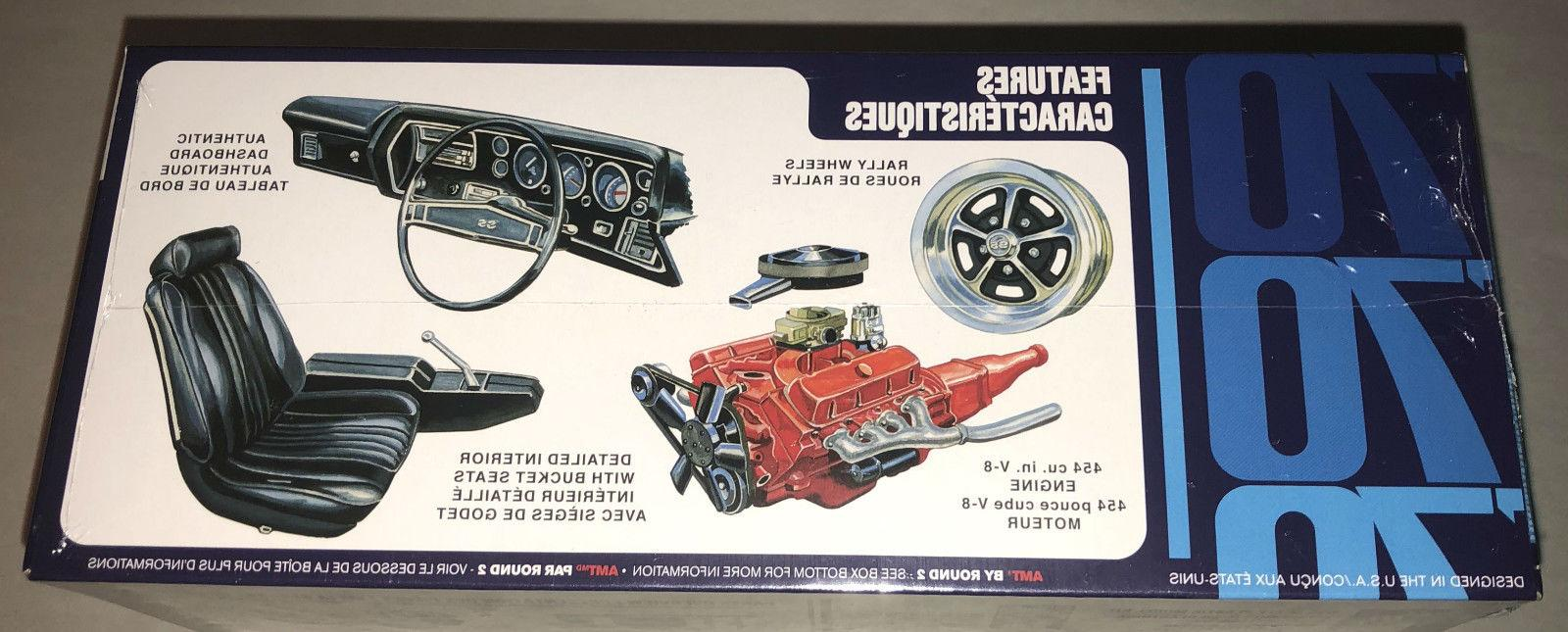 AMT Chevy SS 1:25 car kit