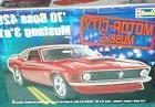 REVELL 1970 FORD MUSTANG BOSS 429 3 in 1 PLASTIC MODEL KIT 1