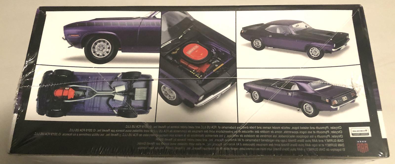 Revell Plymouth Cuda model car