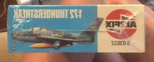 "1982 AIRFIX KIT #9-03022""REPUBLIC F-84F THUNDERSTREAK"""