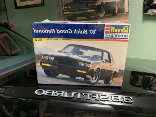 1987 buick grand national model kit