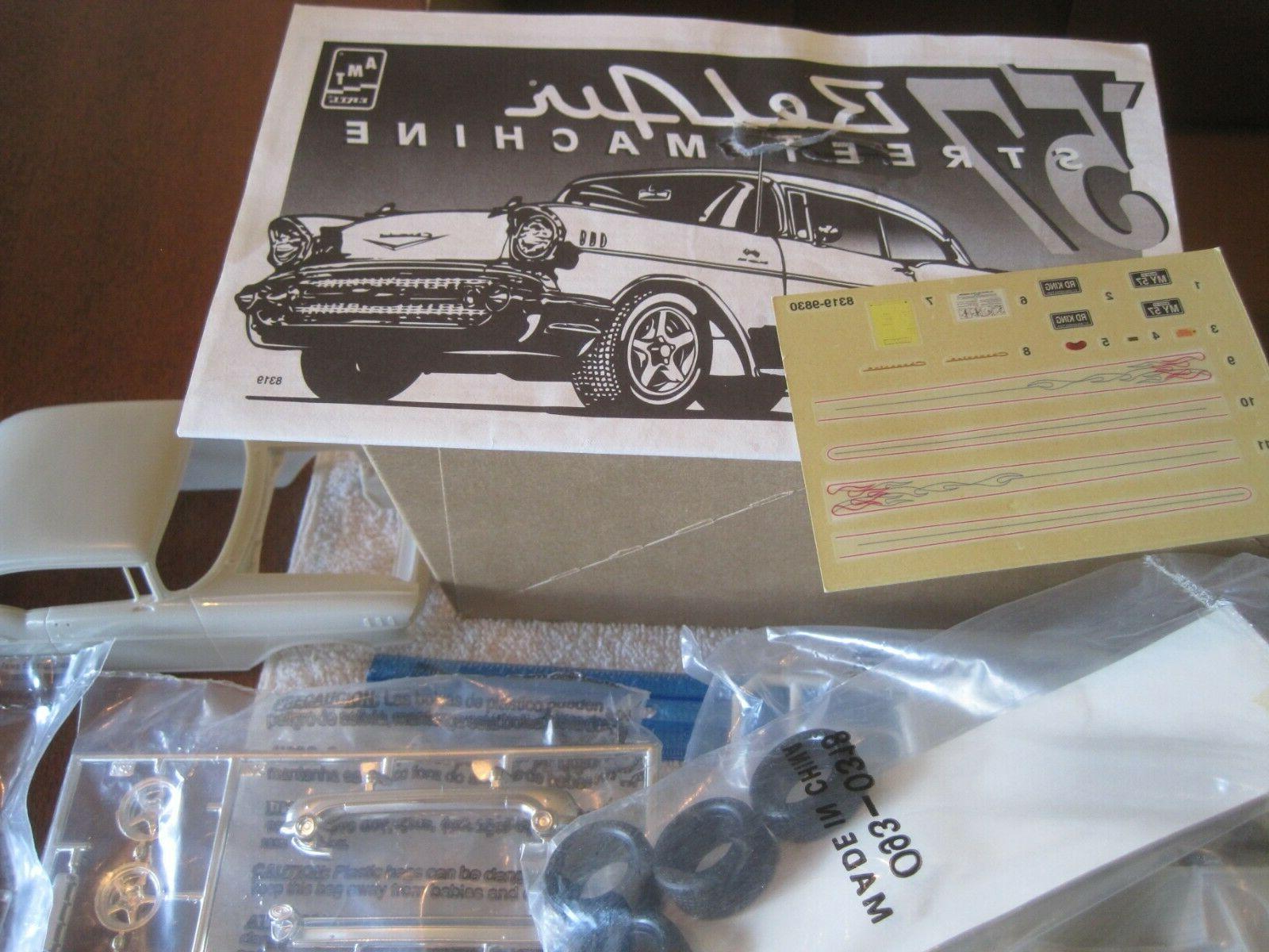 "1998 1/25,plastic Chevy Machine"",Model kit.!!"