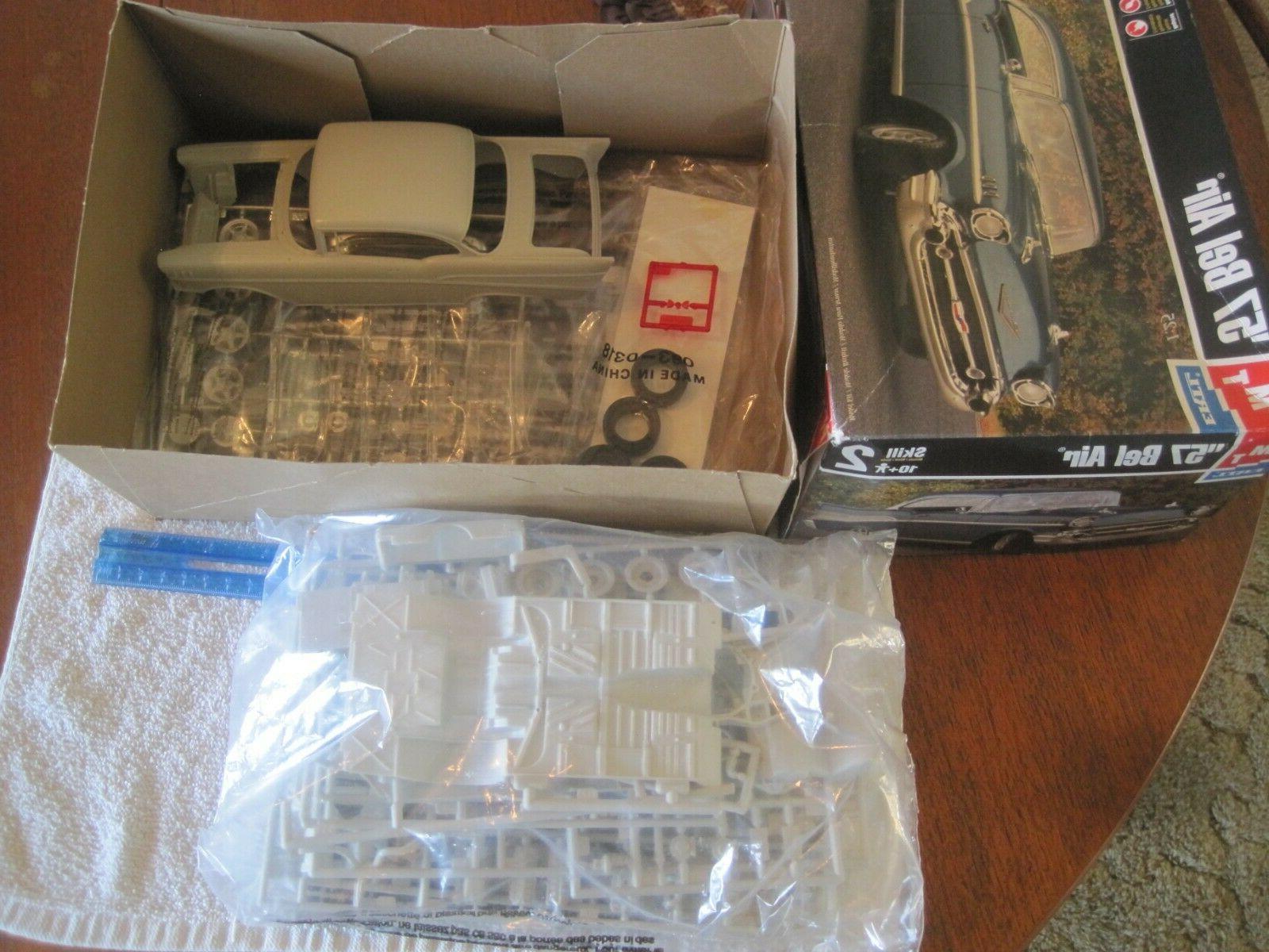 "1998 1/25,plastic 57 Chevy Belair,""Street kit.!!"