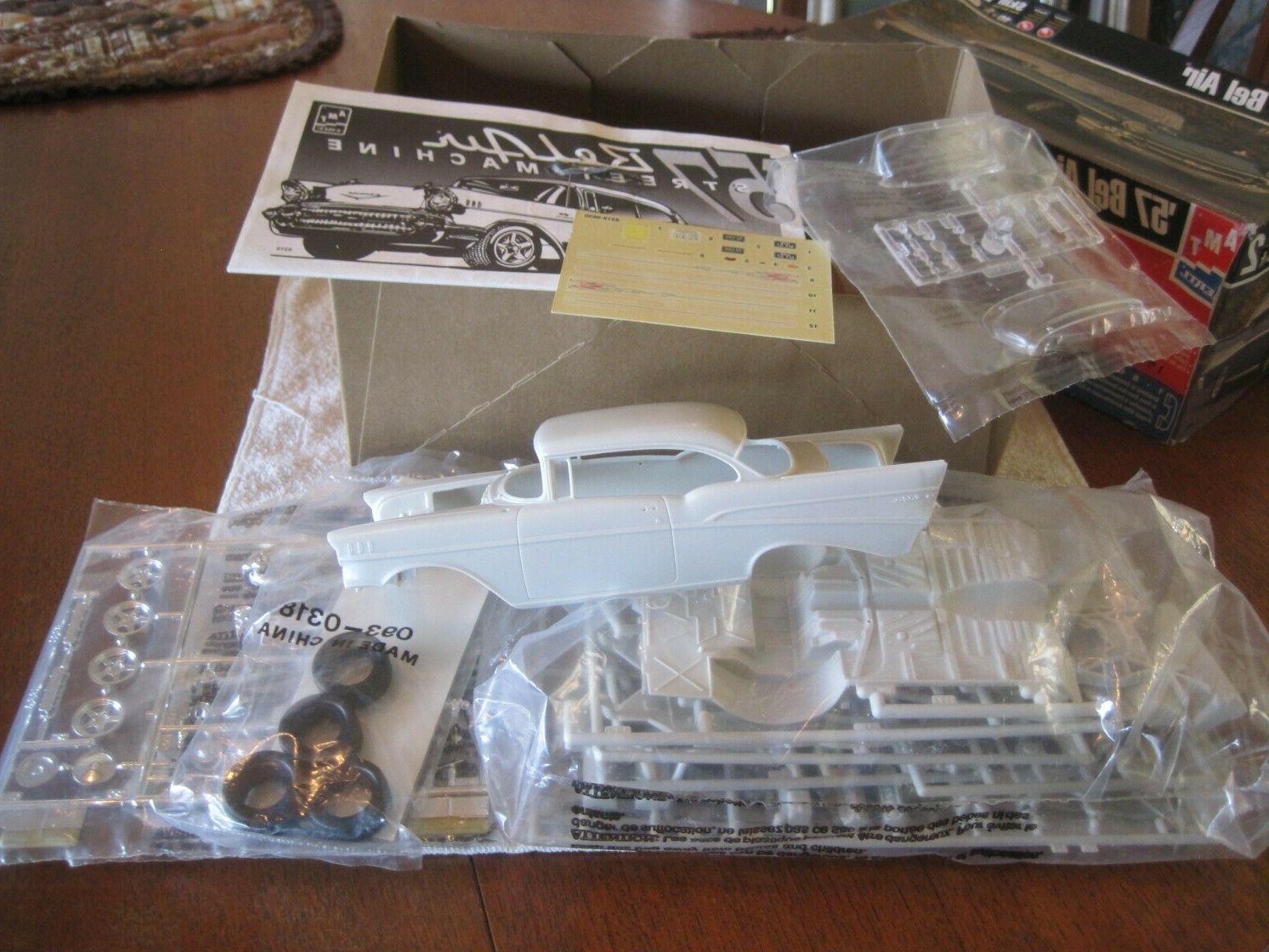 "1998 1/25,plastic Chevy Belair,""Street kit.!!"