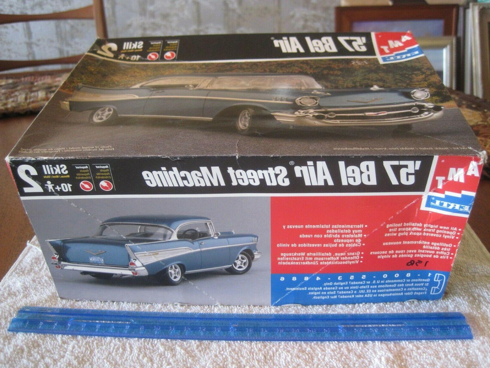 "1998 AMT/Ertl, 1/25,plastic Chevy Belair,""Street kit.!!"