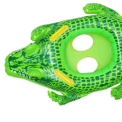 1x Floats Pool 1-5 Years Old Kids Crocodile