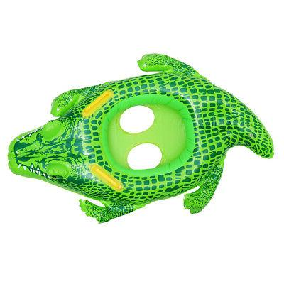1x swimming ring inflatable floats pool toy