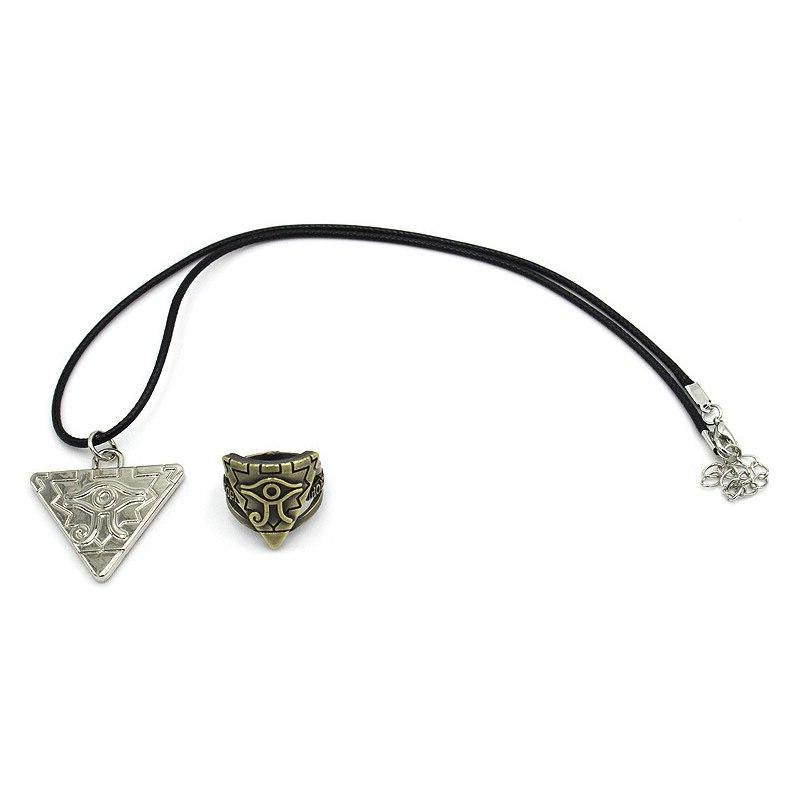 2 Sets Of Game Accessories Yu GI Necklace <font><b>Kit</b></font> COSPLAY Toys Gifts