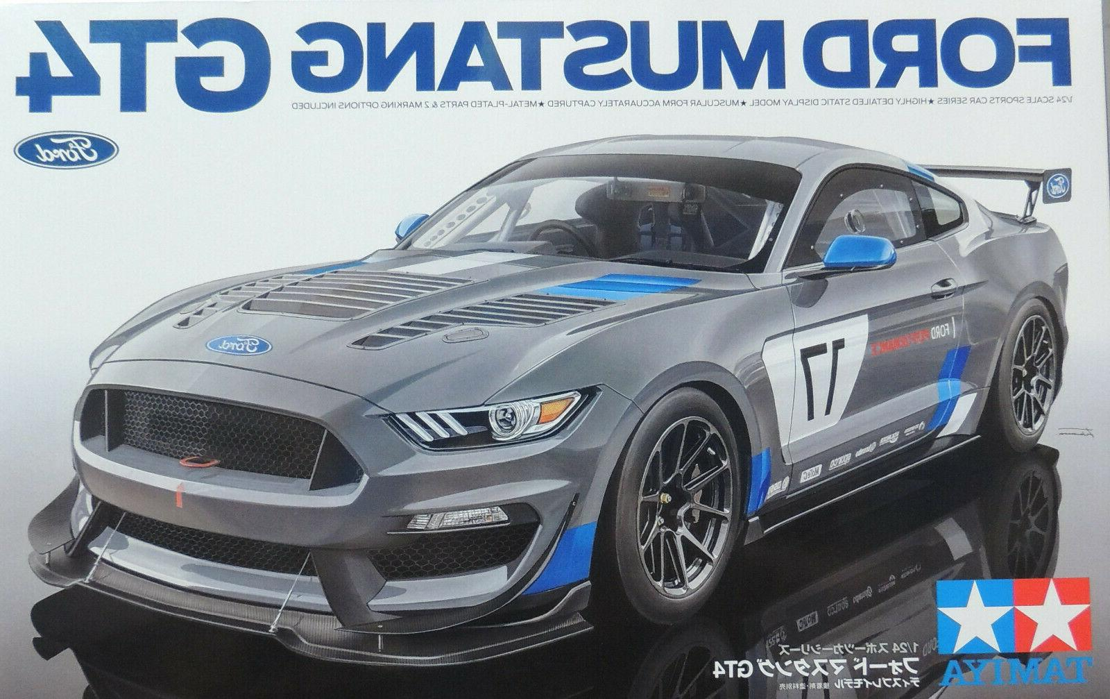 2017 ford mustang gt4 1 24 plastic