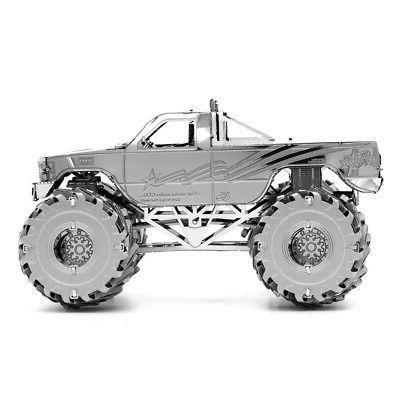 2018 Fascinations Monster Truck 3D Cut Kit MMS163