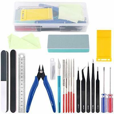 21Pcs Modeler Basic Tools Craft Set Hobby Building Tools Kit