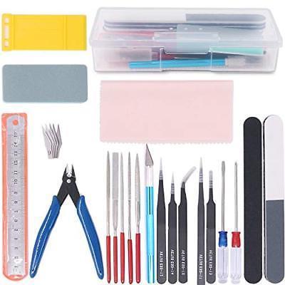 21pcs modeler basic tools craft set hobby