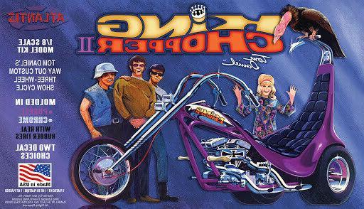 Atlantis 224 Tom Daniel King Chopper II Harley Trike plastic