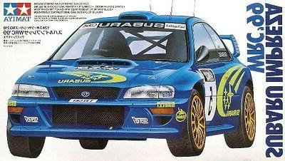 Tamiya 24218 1/24 Model Rally Car Kit Subaru Impreza WRC 99