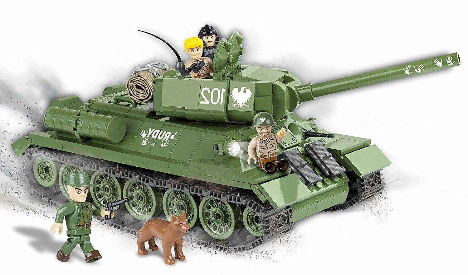COBI T-34/85 Model bricks Tank