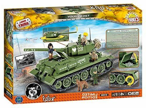 COBI 2486 T-34/85 Model Kit, bricks